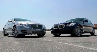 مقایسه بی ام دبلیو 750LI مدل 2013 و جگوار XJL سوپرشارژ 2013