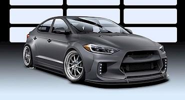 آیا هیوندای از مدل النترا یک خودروی مسابقه ای می سازد؟