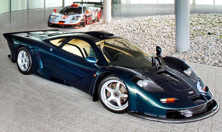McLaren F1 GTR / مکلارن