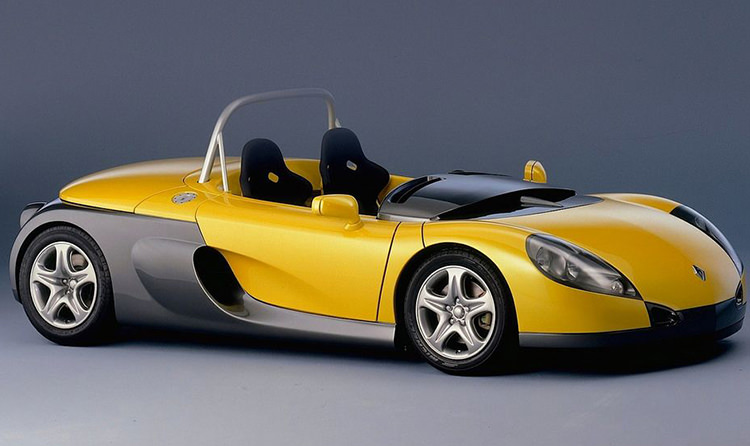 رنو اسپرت اسپایدر / Renault Sport Spyder