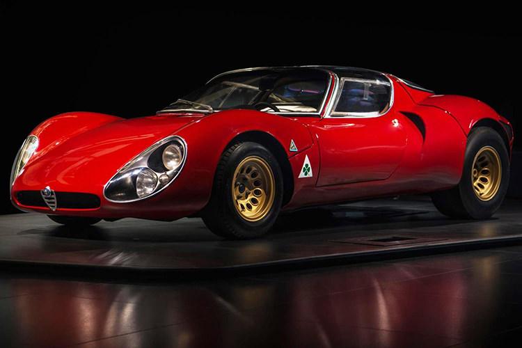 Alfa Romeo 33 Stradale / آلفارومئو