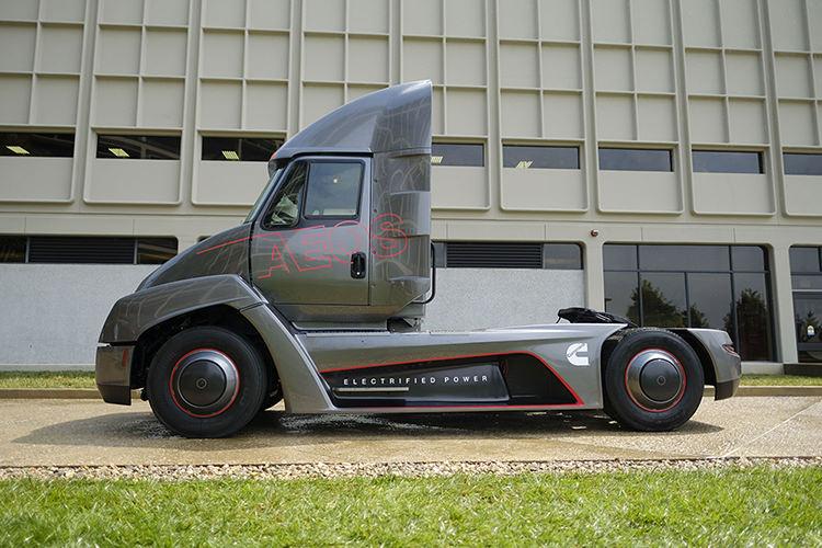 Cummins Electric truck / کامیون برقی کامینز