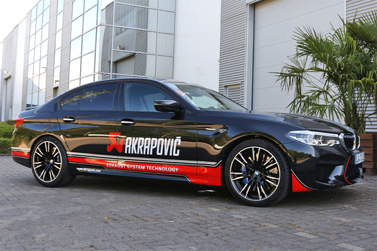 akrapovic exhaust BMW M5