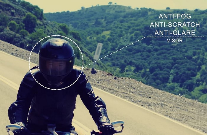 Jarvish X-AR smart motorcycle helmet