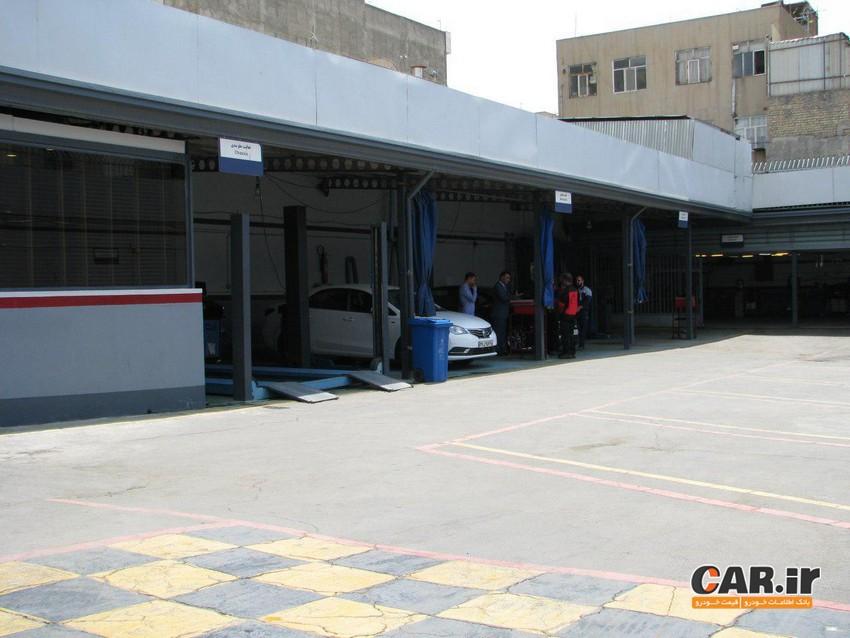 تعمیرگاه مرکزی ام جی در شرق تهران افتتاح شد