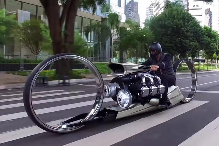 TMC Dumont motorcycle Rolls-Royce / موتورسیکلت تیامسی دیومانت رولزرویس
