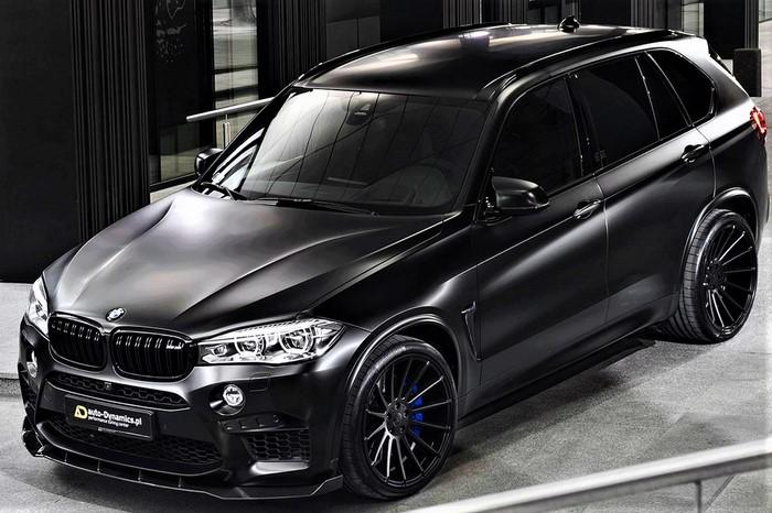 BMW X5 M Auto Dynamics
