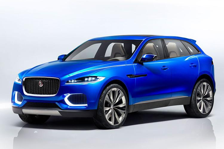 jaguar suv concept J-pace