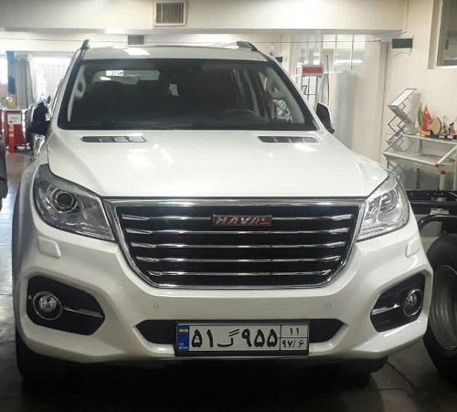 دو خودروی جدید گروه بهمن، با پلاک ملی دیده شدند