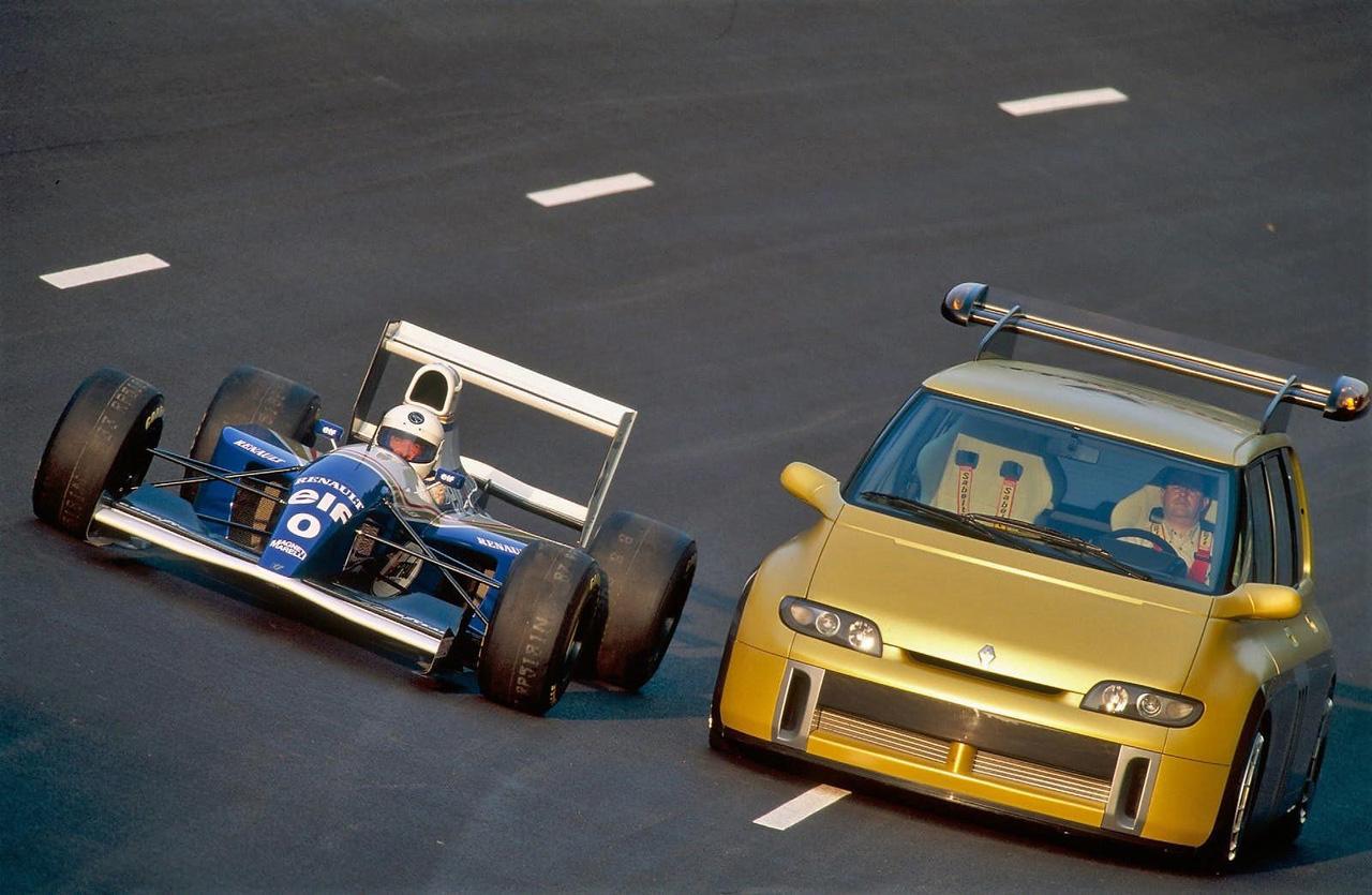 رنو اسپیس F1