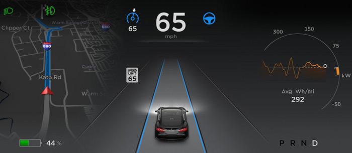 سیستم رانندگی خودران اتوپایلوت تسلا