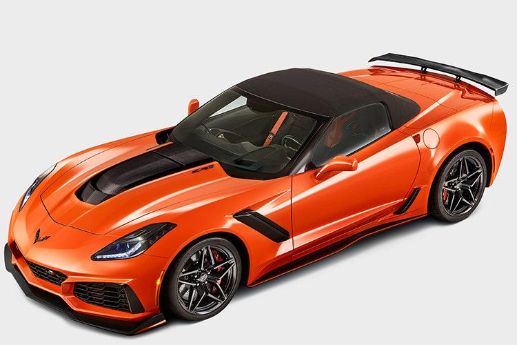 شورولت کوروت ZR1 روباز / 2018 Chevrolet Corvette Convertible