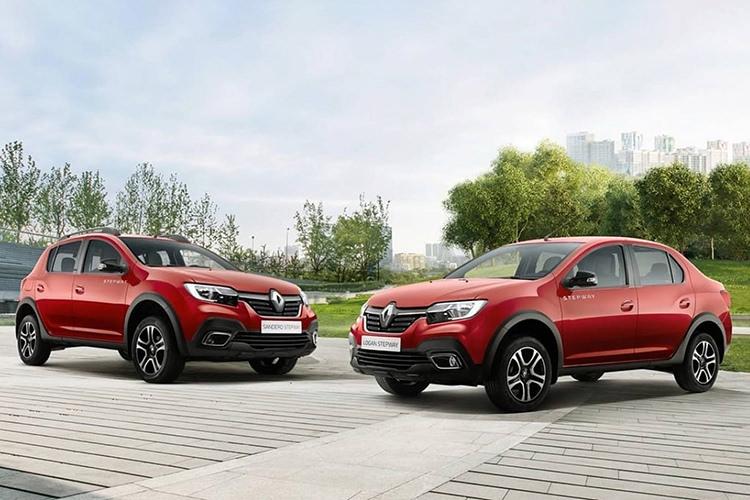 رنو لوگان استپ وی / Renault Logan Stepway