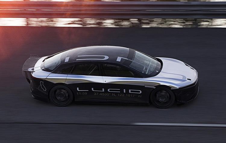 Lucid Air electric sedan / سدان برقی لوسید ایر