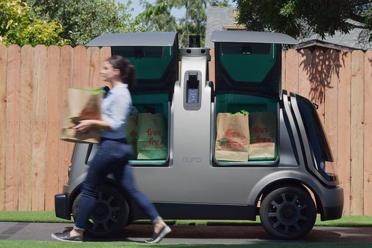 Nuro Autonomous self-driving car / خودروی خودران نورو