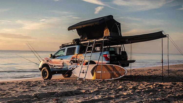 Nissan Titan Surfcamp Concept / ون تفریحی مفهومی نیسان تایتان سورفکمپ