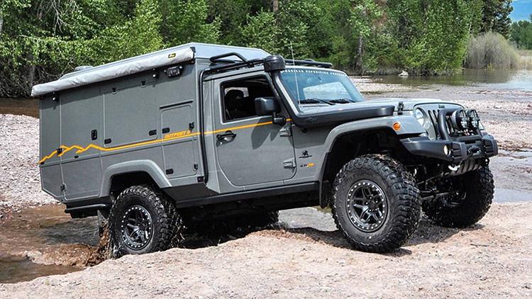 Jeep Wrangler Outpost II Concept / ون مفهومی جیپ رانگلر اوتپست