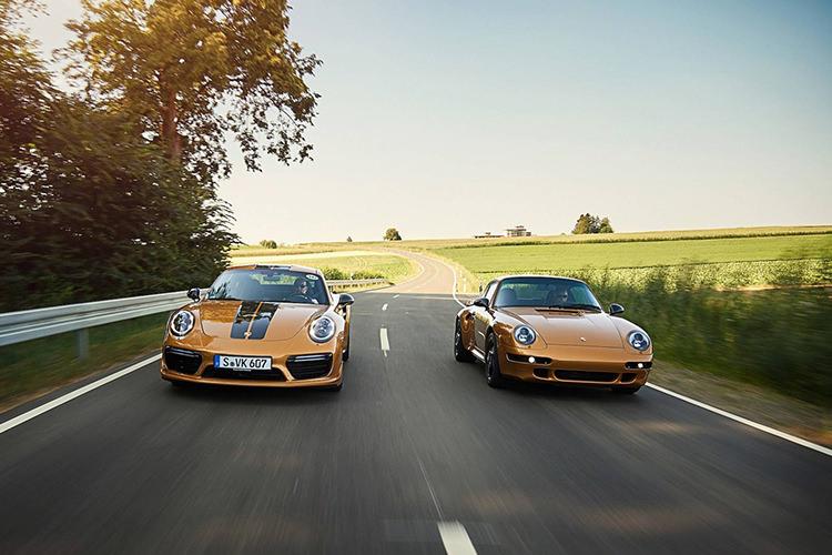 Porsche 911 Gold 993