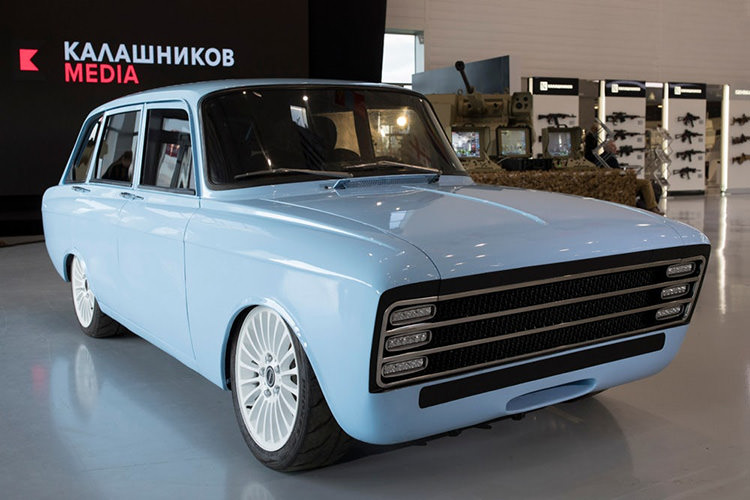 Kalashnikov CV-1 / خودروی برقی مفهومی کلاشینکف CV-1