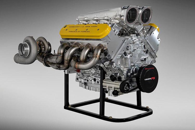 Hennessey Venom F5 V8 Engine