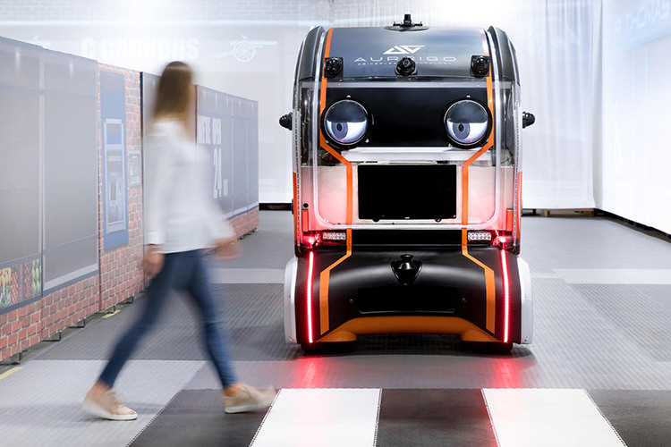 Jaguar Land Rover self-driving car / خودروی خودران جگوار لندرور