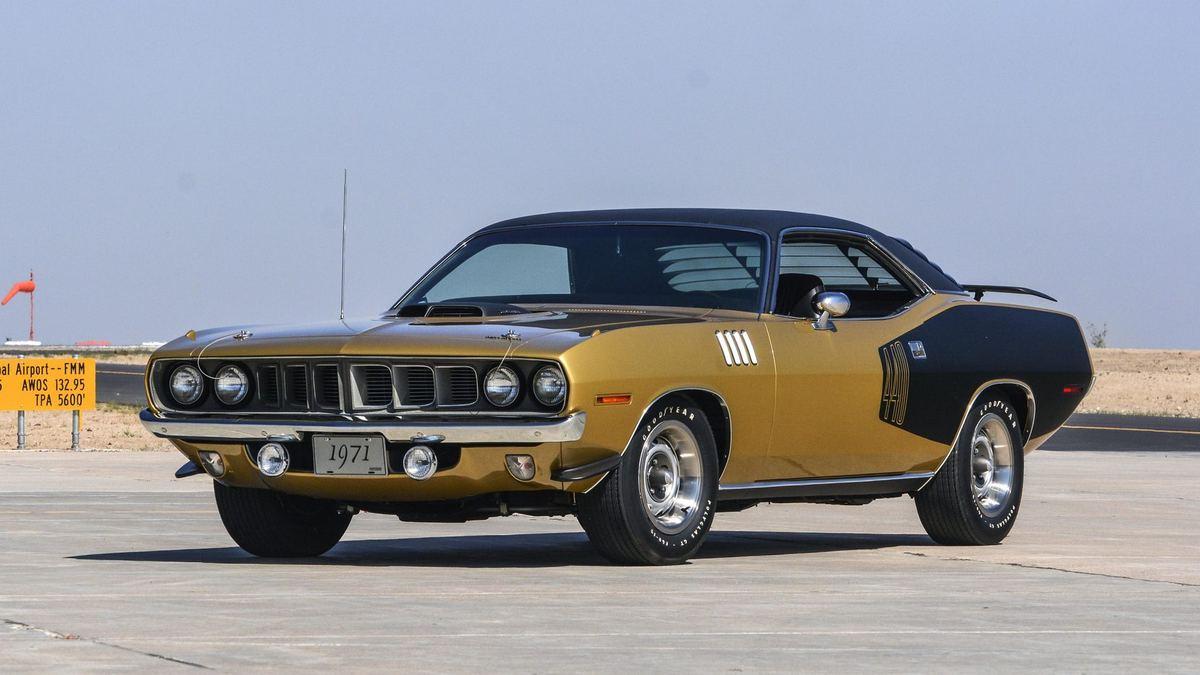 پلیموت کودا مدل 1971