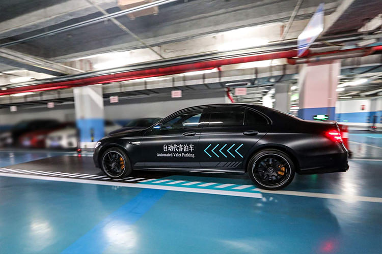 Mercedes Benz Bosch Automated Valet Parking