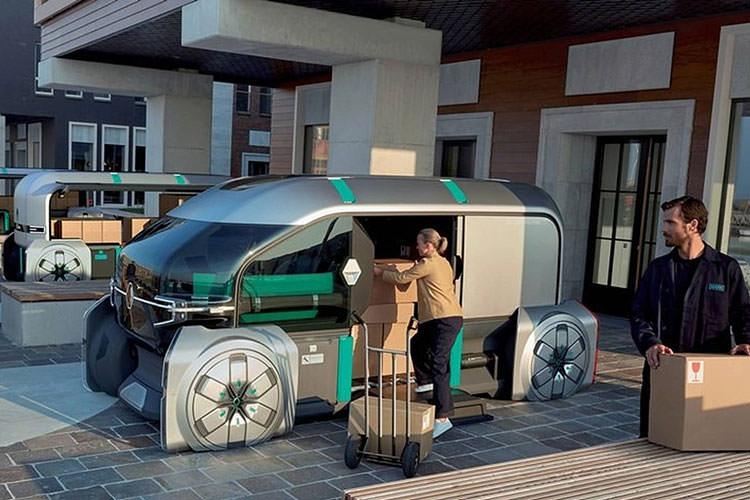 Renault EZ-Pro Concept / مفهومی رنو EZ-Pro