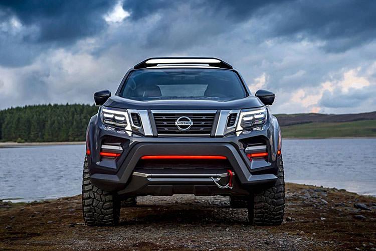 Nissan Navara Dark Sky Concept pickup / پیکآپ مفهومی نیسان ناوارا دارک اسکای