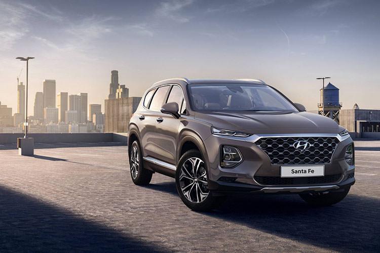 2019 Hyundai Santa Fe / شاسیبلند هیوندای سانتافه