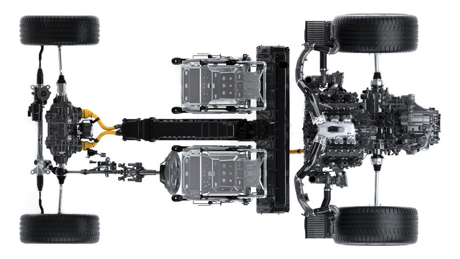 سیستم انتقال قدرت هوندا NSX