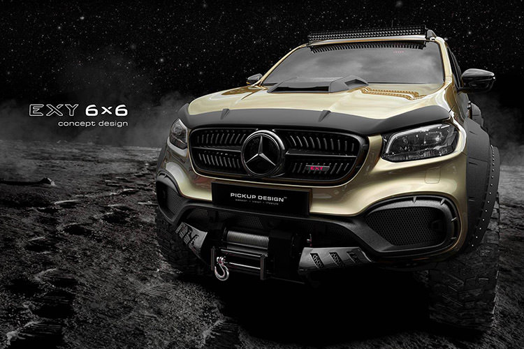 Mercedes Benz X-Class Exy 6x6