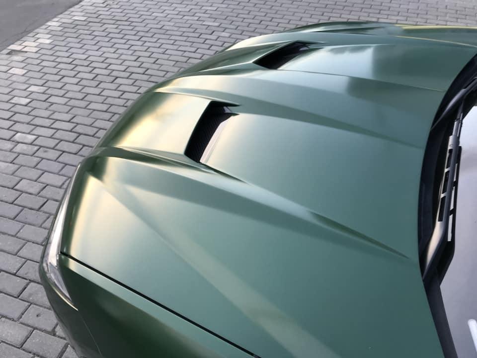 عرضه لامبورگینی اوروس با کیت بدنه تاپ کار + تصاویر