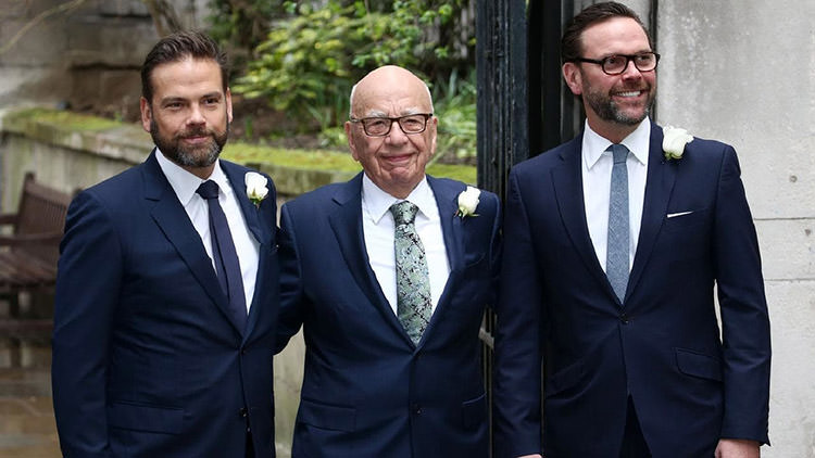 James Murdoch / جیمز مرداک
