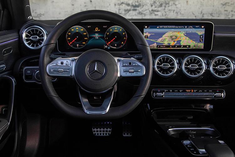 Mercedes Benz MBUX Infotaiment