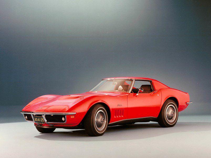شورولت کوروت مدل 1969