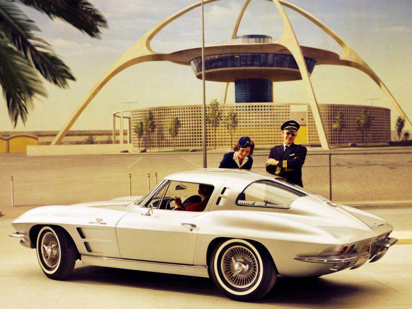 شورولت کوروت Z06 استینگ ری مدل 1963