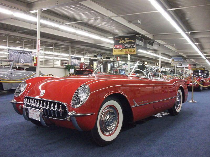 شورولت کوروت مدل 1955