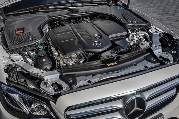Mercedes Benz E class hybrid