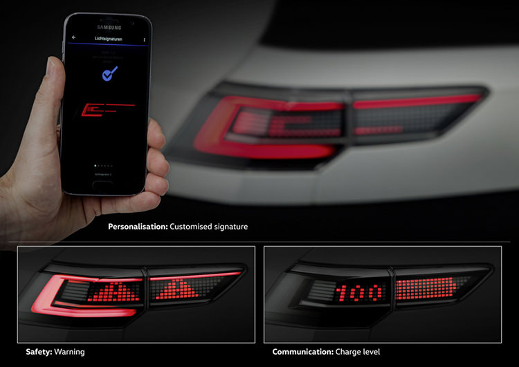 Volkswagen matrix LED headlight / چراغ ماتریسی LED فولکسواگن