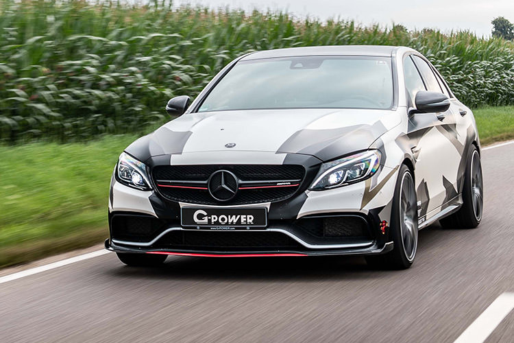 Mercedes AMG C63 G-Power