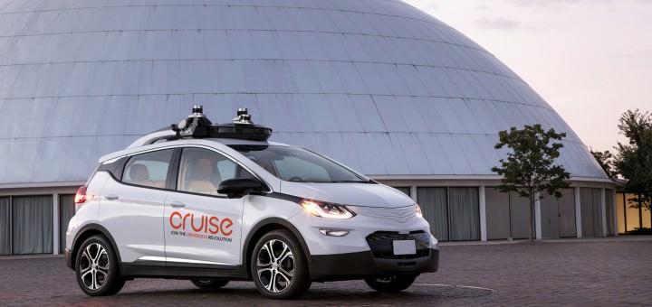General Motors Cruise self-driving car / خودروی خودران کروز جنرال موتورز