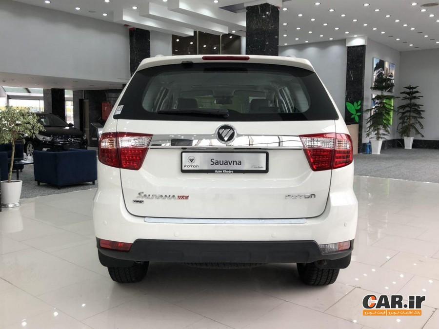 نخستین سری فوتون ساوانای تولید عظیم خودرو به دست مشتریان رسید