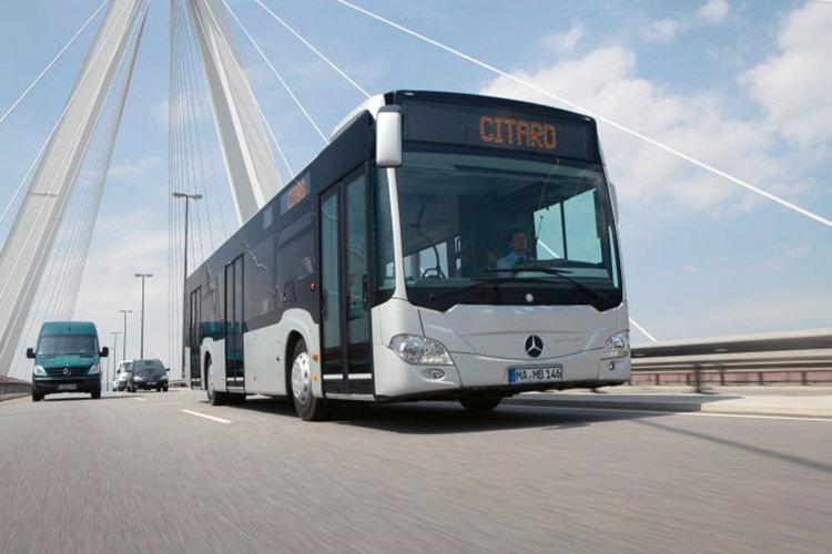 Daimler Mercedes-Benz eCitaro electric bus / اتوبوس الکتریکی مرسدس بنز eCitaro دایملر