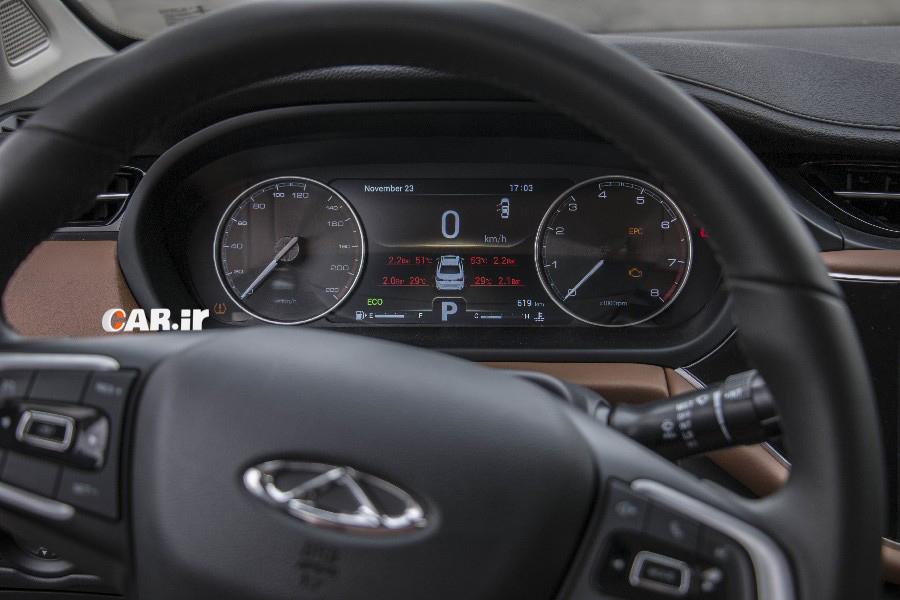 نخستین ملاقات و تجربه رانندگی با چری آریزو 6 در پیست آزادی