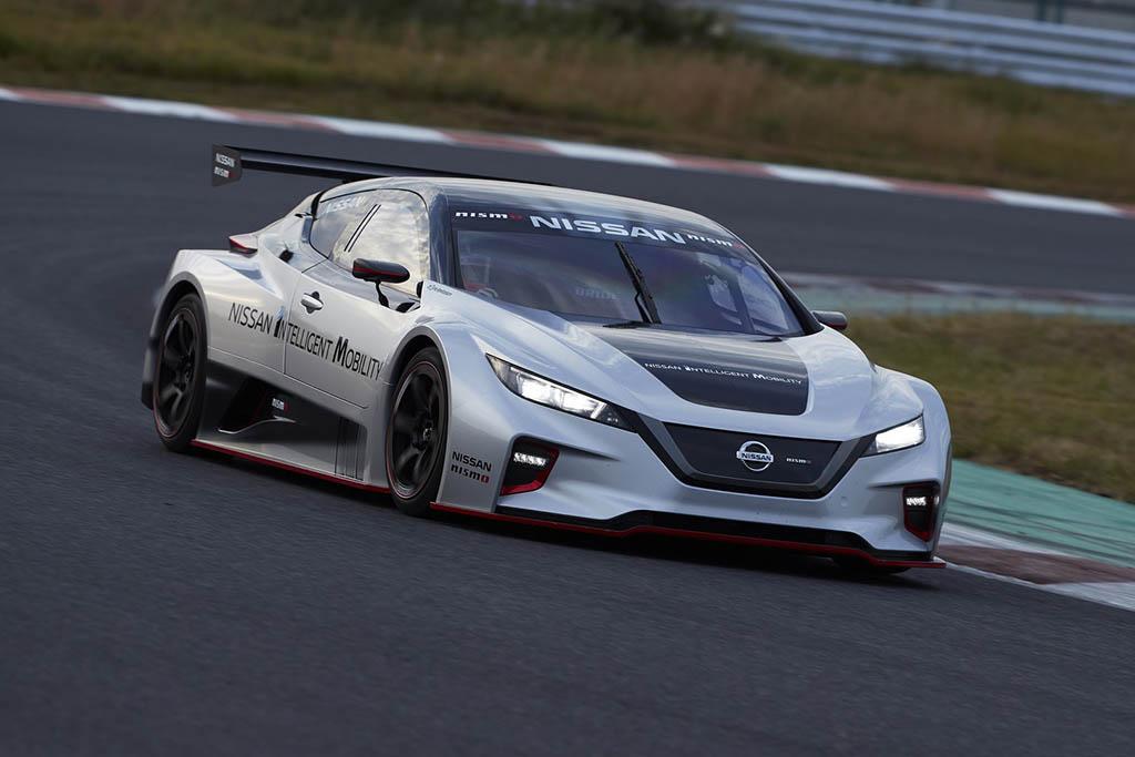 خودروی مسابقهای نیسان لیف نیسمو RC معرفی شد + تصاویر