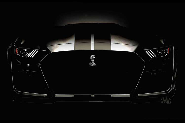 Ford Mustang Shelby GT500 Render