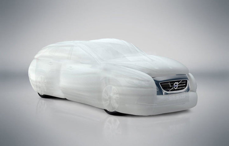 ZF External airbag / کیسه هوای خارجی ایربگ