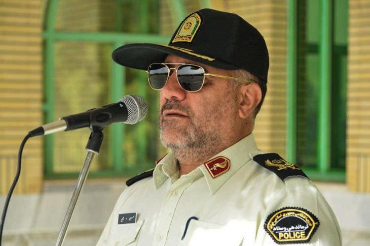 سردار حسین رحیمی فرمانده نیروی انتظامی تهران