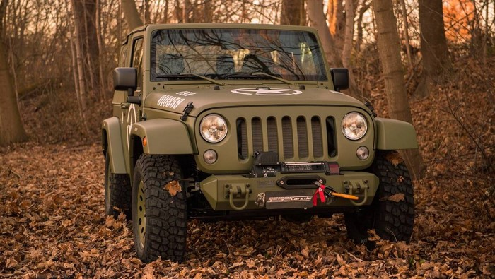 Jeep Wrangler Willys by Geiger Cars